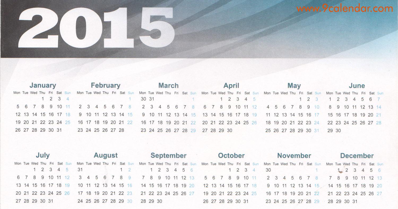 February Calendar 2015 2015 season announcement